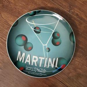 Barware Martini Plate